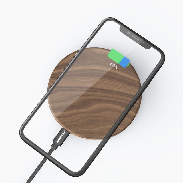 Universal Wooden Qi Wireless Charger for Phone