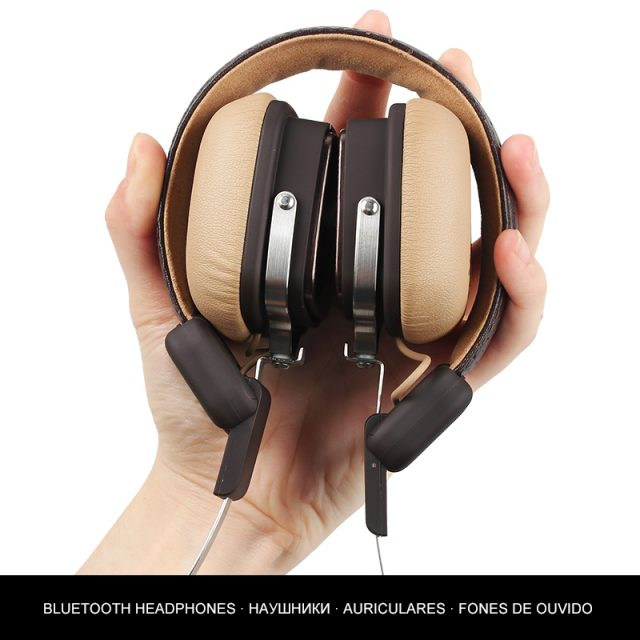 Metal Stereo Wireless Headphones with Microphone